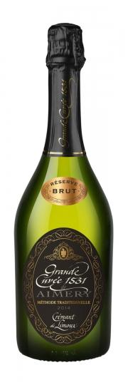 Aimery Sieur d´Arques Grande Cuvée 1531 Cremant de Limoux Brut Reserve 2014 0,75l