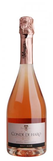 Bodegas Muga CONDE DE HARO Cava Brut Rosé 0,75l