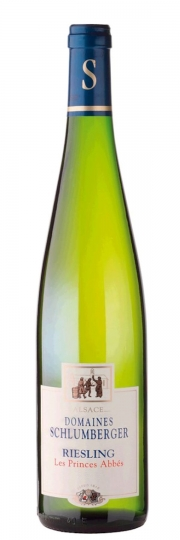 Schlumberger Riesling LES PRINCES ABBES Alsace 2014 0,75l