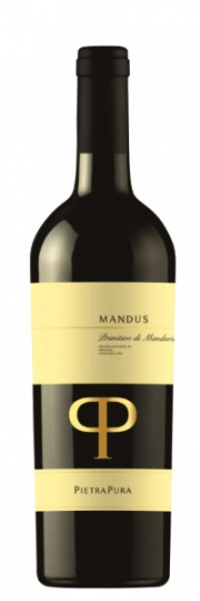 Pietra Pura MANDUS Primitivo di Manduria DOC 2017 0,75l