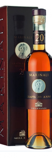 Villa Sandi Marinali Grappa 20 ANNI Geschenkverpackung 0,5l 40% vol.