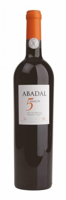 Abadal 5 Merlot Pla de Bages DO 2013 0,75l