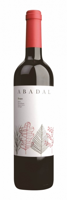Abadal Franc Pla de Bages DO 2016 0,75l