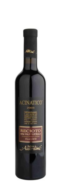 Stefano Accordini ACINATICO Recioto Classico della Valpolicella DOC 2010 0,5l
