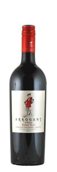 Arrogant Frog - Ribet Red - Rouge Vin de Pays d´Oc 2012 0,75l