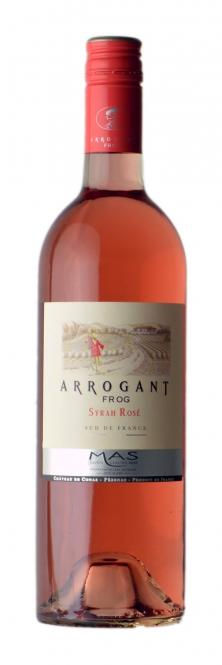 Arrogant Frog - Syrah Rosé - IGP 2016 0,75l