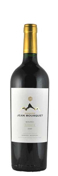 Jean Bousquet Malbec Reserva Mendoza BIO 2015 0,75l