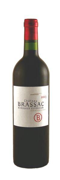 Château Brassac AOC Bordeaux Superieur 2009 0,75l
