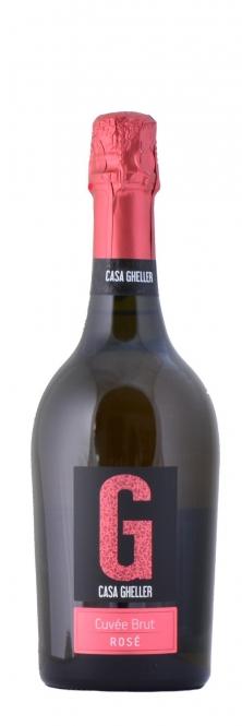 Casa Gheller Cuvée Brut Rosé Spumante IGT 0,75l