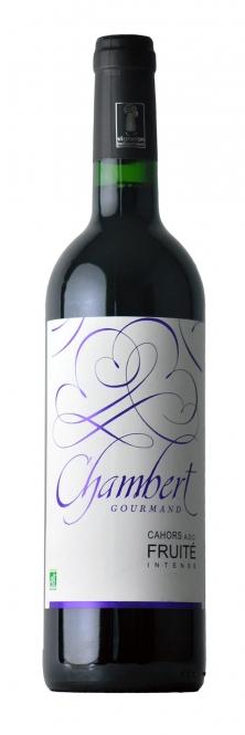 Château de Chambert FRUITÉ INTENSE AOC Cahors BIO 2012 0,75l