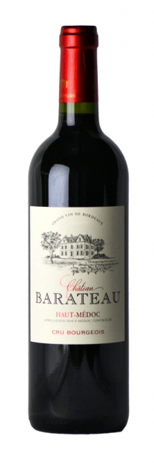 Château Barateau Cru Bourgeois Haut-Medoc 2009 0,75l
