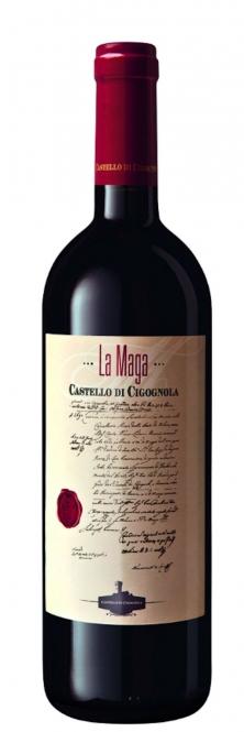 Castello di Cigognola LA MAGA Barbera DOC 2011 0,75l