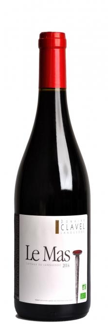 Domaine Clavel LE MAS Languedoc AOC BIO 2016 0,75l