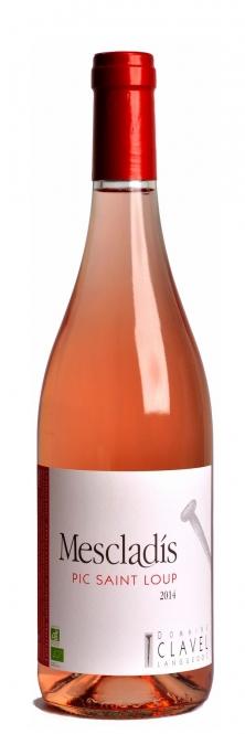 Domaine Clavel MESCLADIS Rosé Pic Saint Loup BIO 2016 0,75l