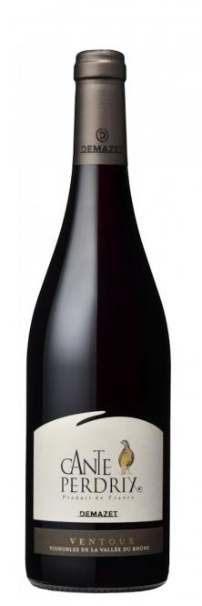 Demazet CANTEPERDRIX AOC Ventoux Rouge 2015 0,75l