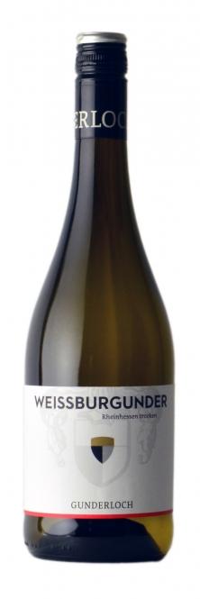 Gunderloch Weissburgunder QbA trocken 2015 0,75l