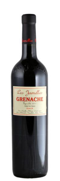 Les Jamelles Grenache rouge Pays d´Oc 2015 0,75l