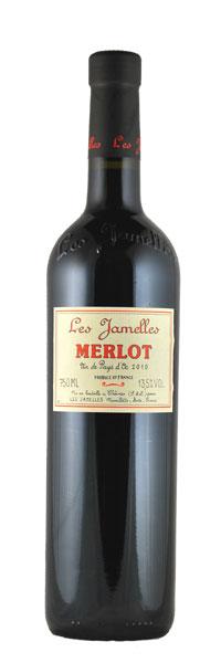 Les Jamelles Merlot Pays d´Oc 2012 0,75l