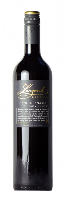 Langmeil HANGIN´ SNAKES Shiraz Viognier 2013 0,75l