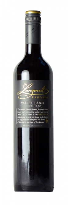 Langmeil VALLEY FLOOR Shiraz 2013 0,75l