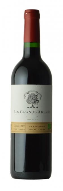 Les Grands Arbres Merlot BIO 2015 0,75l