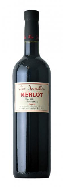 Les Jamelles Merlot Pays d´Oc 2016 0,75l
