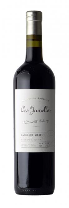 Les Jamelles Cabernet-Merlot Selection Speciale Pays d´Oc 2014/15 0,75l