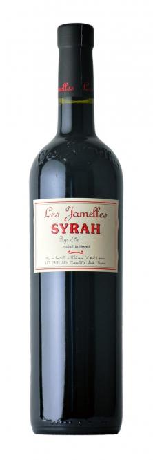 Les Jamelles Syrah Pays d´Oc 2015 0,75l