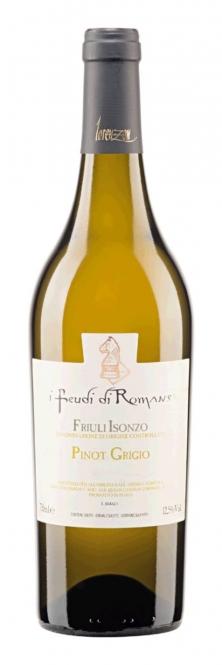 Lorenzon I Feudi di Romans Pinot Grigio Friuli Isonzo DOC 2016 0,75l