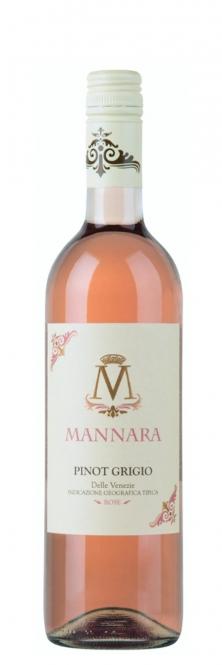 Mánnara Pinot Grigio Rosé IGT BLUSH Venetien 2016 0,75l