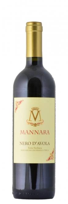 Mánnara Nero d´Avola IGT Terre Siciliane 2014 0,75l