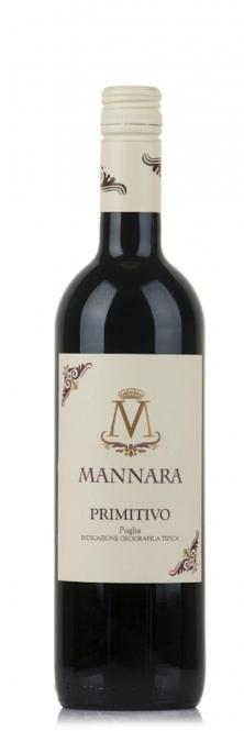 Mánnara Primitivo IGT Puglia 2015 0,75l