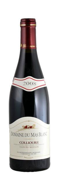 Domaine du Mas Blanc CLOS DU MOULIN Collioure AOC 2008 0,75l