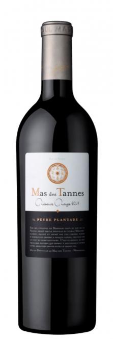 Mas des Tannes Rouge Réserve Vin de Pays BIO 2015 0,75l