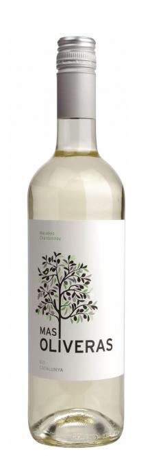 Roqueta MAS OLIVERAS Blanco Macabeo - Chardonnay 2016 0,75