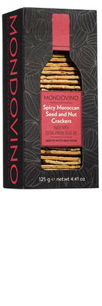 Mondovino Spicy Moroccan Crackers 125g
