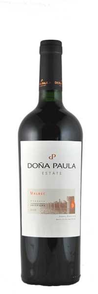 Vina Dona Paula ESTATE Malbec Mendoza 2015 0,75l