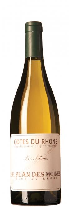 Plan des Moines LES SILENES Côtes du Rhône blanc 2015 0,75l