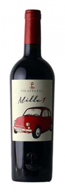 Pratello MILLE 1 Rebo IGT 2015 0,75l