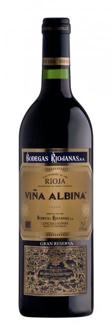 Bodegas Riojanas Vina Albina Gran Reserva DOCa 2008 0,75l