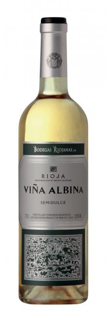 Bodegas Riojanas Vina Albina Blanco Semidulce DOCa 2016 0,75l
