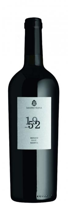 Cantina Sampietrana SINCE 1952 Brindisi Riserva DOC 2014 0,75l