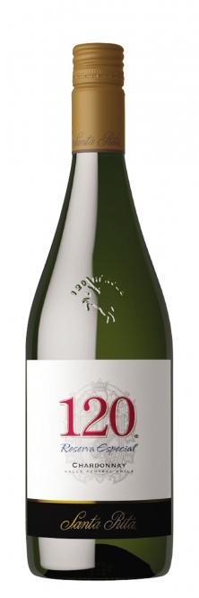 Santa Rita 120 Chardonnay 2016 0,75l