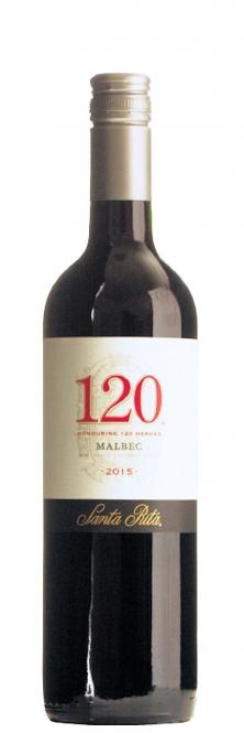 Santa Rita 120 Malbec 2015 0,75l