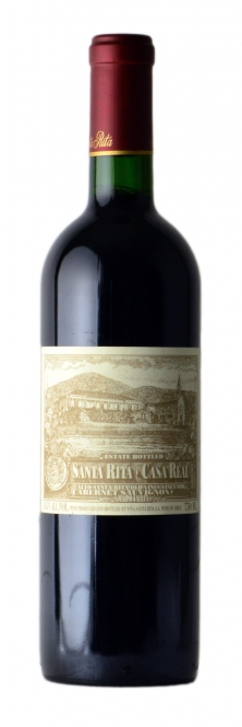 Santa Rita CASA REAL Cabernet Sauvignon old vines Maipo Valley 2012 0,75l
