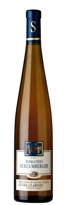 Schlumberger Pinot Gris CUVEE CLARISSE Selection des Grains Nobles 2009 0,75l