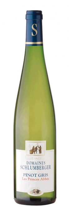 Schlumberger Pinot Gris LES PRINCES ABBES Alsace 2014 0,75l