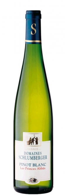 Schlumberger Pinot Blanc LES PRINCES ABBES Alsace 2015 0,75l