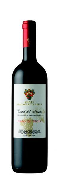 Conte Spagnoletti Zeuli NERO DI TROIA Castel del Monte DOC 2014 0,75l
