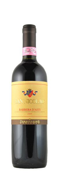 Terre da Vino SAN NICOLAO Barbera d´Asti DOCG 2015 0,75l